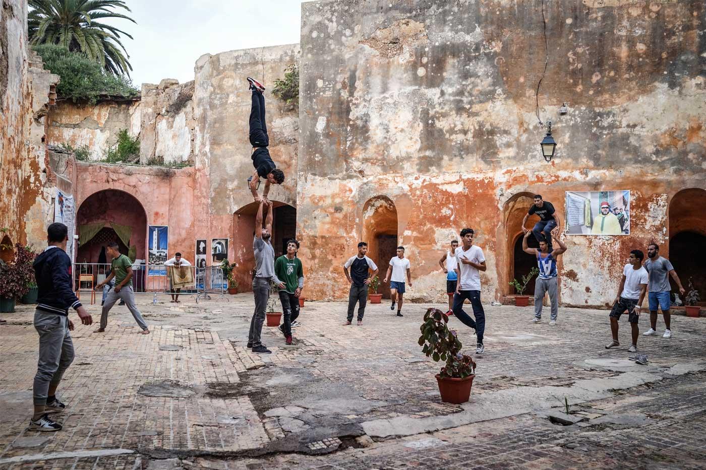 Mito's Acrobats in Larache