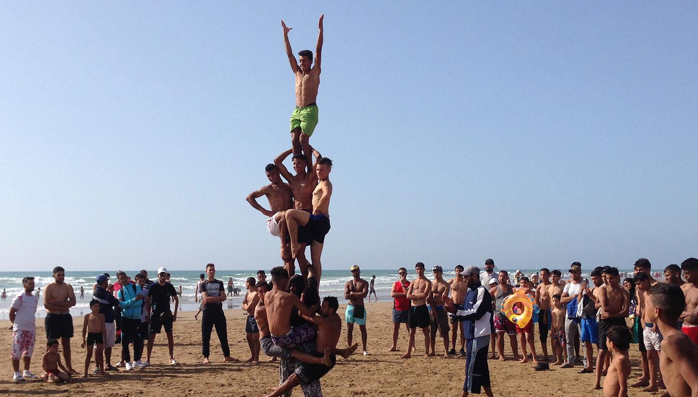 Därför arbetar vi med Mito's Acrobats in Larache